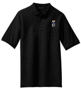 MKT KATY  Railroad Logo Embroidered Polo  [105]
