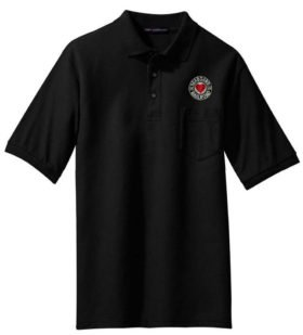 North Shore Line Logo Embroidered Polo  [114]