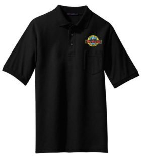 Rio Grande Speed Lettering Embroidered Polo  [11]