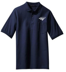 Amtrak Arrow Embroidered Polo  [221]