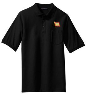 Nickel Plate Embroidered Polo  [54]