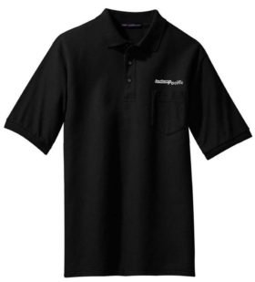 Canadian Pacific Beaver Logo Embroidered Polo  [75]