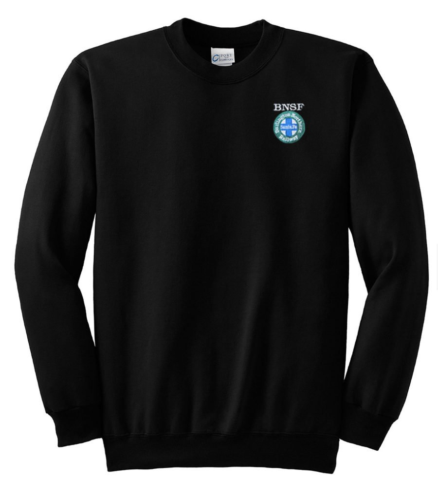 Burlington Northern Santa Fe Intermodal Logo Crew Neck Sweatshirt [03]