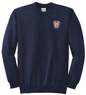 Long Island Railroad Keystone Logo Crew Neck Sweatshirt [10]