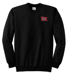 Lehigh Valley Railroad Black Diamond Logo Crew Neck Sweatshirt [104]