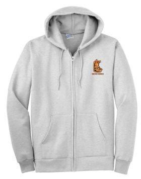 West Side Lumber Company Railway Zippered Hoodie Sweatshirt [111]