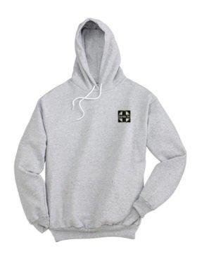 AT&SF Santa Fe Black Cross Pullover Hoodie Sweatshirt [120]