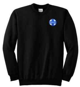 AT&SF Santa Fe Blue Cross Crew Neck Sweatshirt [16]