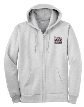 Western Pacific Zippered Hoodie Sweatshirt [24]