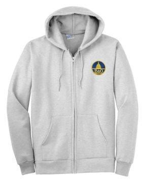 Baltimore and Ohio Zippered Hoodie Sweatshirt [25]