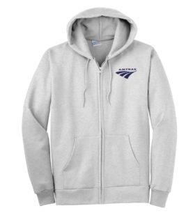 Amtrak Travelmark Zippered Hoodie Sweatshirt [252]