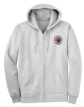 Northern Pacific Railway Zippered Hoodie Sweatshirt [39]