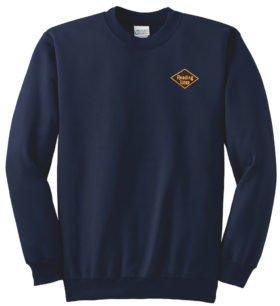 Reading Lines Railroad Crew Neck Sweatshirt [40]