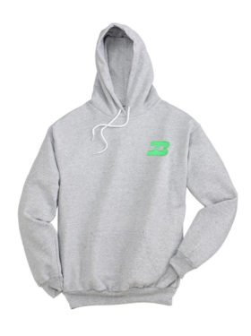 Burlington Northern Logo Pullover Hoodie Sweatshirt [46]