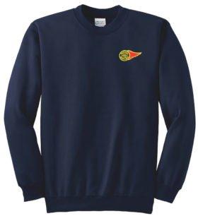 Western Maryland Fireball Logo Crew Neck Sweatshirt [63]