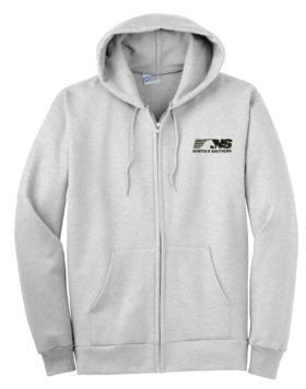 Norfolk Southern Thoroughbred Logo Zippered Hoodie Sweatshirt [68]