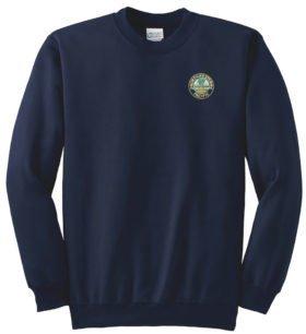 Northwesten Pacific Railroad Crew Neck Sweatshirt [80]