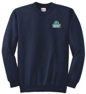 Sacramento Northern Railway Crew Neck Sweatshirt [97]