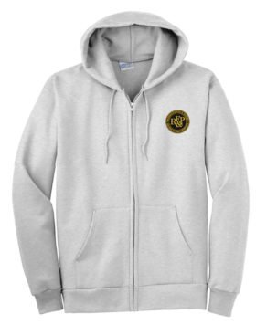 Richmond Fredericksburg and Potomac Railroad Zippered Hoodie Sweatshirt [99]