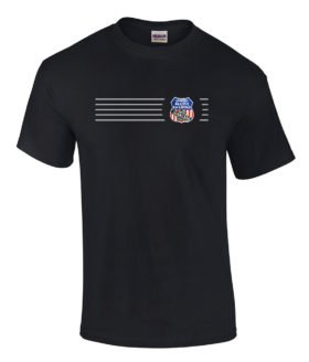 Union Pacific Overland Route Embroidered Logo Tee [tee123]