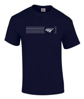 Amtrak Travelmark Railroad Logo Tee Shirts [tee252]