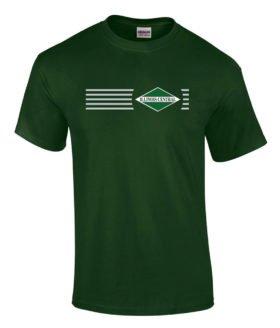 Illinois Central Green Diamond Logo Tee Shirts [tee06]