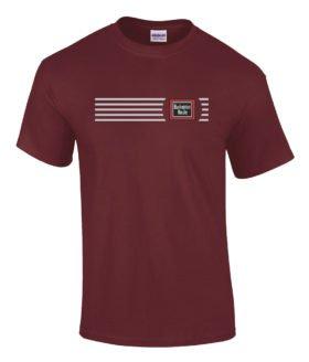 Burlington Route Railroad Logo Tee Shirts [tee33]