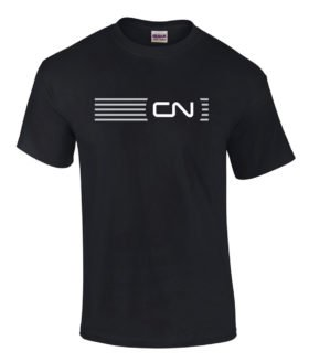Canadian National Noodle Logo Embroidered Logo Tee [tee45]