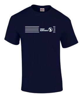 Great Northern Railroad Rocky Logo Tee Shirts [tee64]