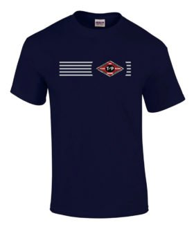 Texas and Pacific Railway Embroidered Logo Tee [tee69]