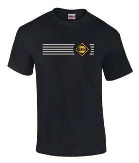 Erie Railroad Embroidered Logo Tee [tee78]