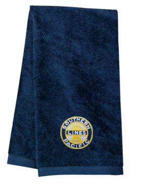 Southern Pacific Sunset Logo Embroidered Hand Towel [02]