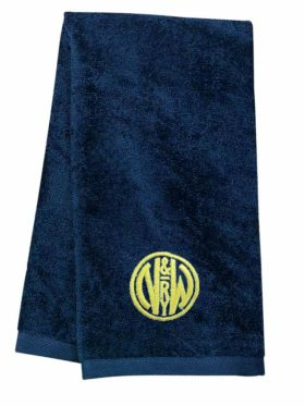 Norfolk and Western Railway Embroidered Hand Towel [04]