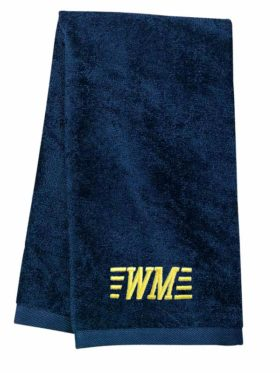 Western Maryland Railroad Embroidered Hand Towel [07]