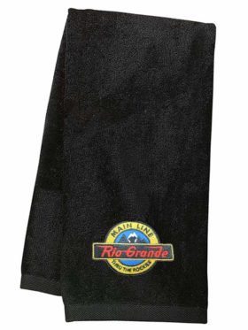 Denver and Rio Grande Main Line Embroidered Hand Towel [12]