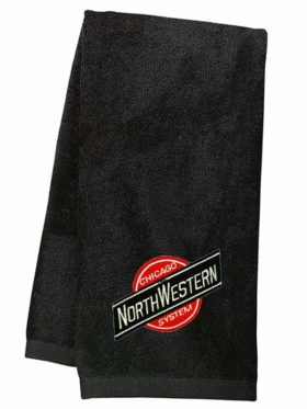 Chicago & Northwestern Embroidered Hand Towel [17]