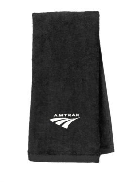 Amtrak Travelmark Embroidered Hand Towel [252]