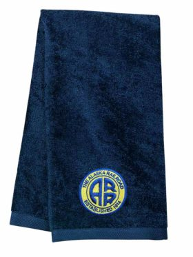 Alaska Railroad Embroidered Hand Towel [26]