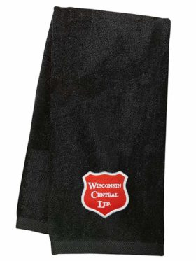 Wisconsin Central Ltd Embroidered Hand Towel [41]
