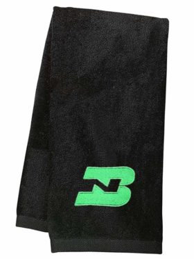 Burlington Northern Embroidered Hand Towel [46]