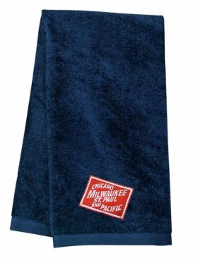 Chicago, Milwaukee, St. Paul and Pacific Railroad Embroidered Hand Towel [53]