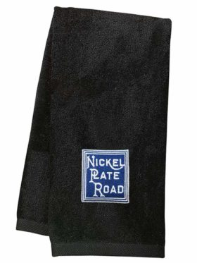 Nickel Plate Road Embroidered Hand Towel [54]