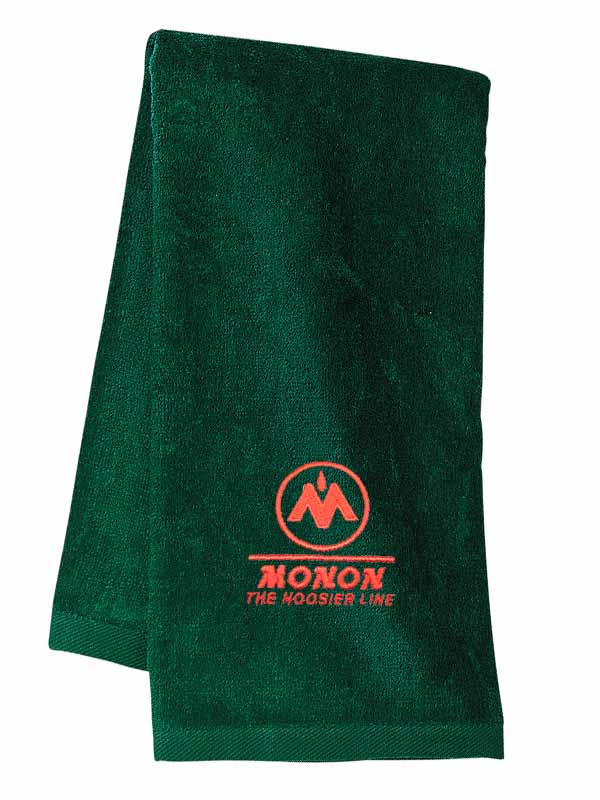 Monon Railroad Embroidered Hand Towel [56]