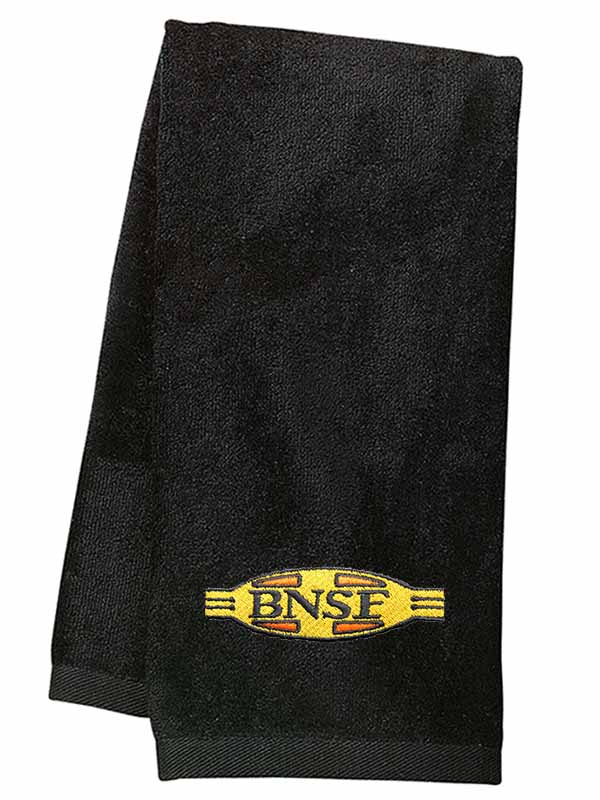 61 BNSF Cigar Band Logo Embroidered Polo