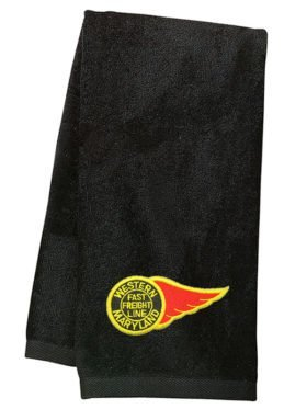 Western Maryland Fireball Logo Embroidered Hand Towel [63]
