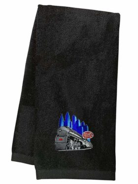 New York Central Empire State Express Embroidered Hand Towel [66]