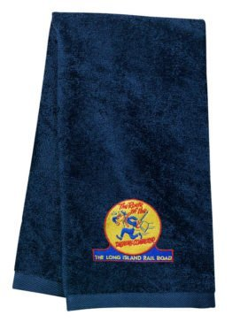 Long Island Railroad Dashing Dan Embroidered Hand Towel [85]