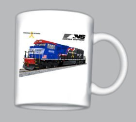 Norfolk Southern Veteran Tribute Mug