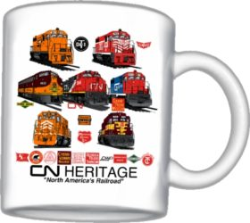 Canadian National Heritage Mug (Mug 102)