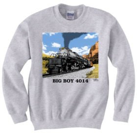Union Pacific Big Boy 4014 in Utah Sweatshirt